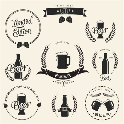 design beer logo photoshop beer vectors photos and psd files free download