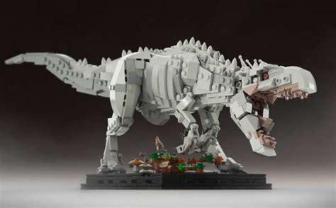 Frame Lego Jurassic World the indominus rex in jurassic world built with lego bricks