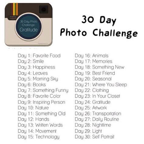 deepness bliss 30 day instagram photo challenge