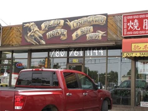 edmonton tattoo parlors reviews dead horse custom tattoo and body mods edmonton alberta