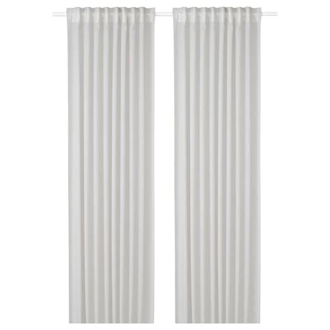 gunrid air purifying curtain  pair light gray ikea