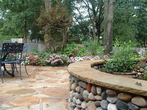 backyard hardscapes backyard landscape hardscape ideas in tulsa
