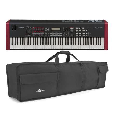 Cover Keyboard Yamaha yamaha moxf8 synthesizer keyboard with soft at