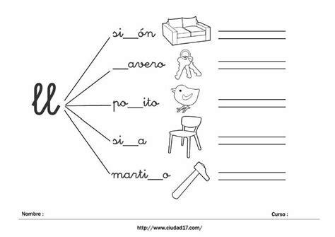 actividades lectoescritura para imprimir fichas educativas de escritura