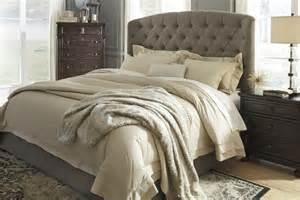 how to make a cal king headboard gerlane brown king cal king uph headboard b657