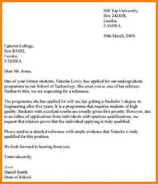 Writing College Letter Of Recommendation 8 Writing Letters Of Recommendation Sle Of Invoice