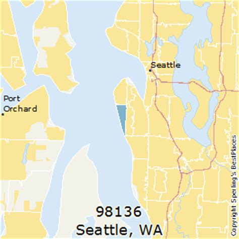 seattle map with zip codes best places to live in seattle zip 98136 washington
