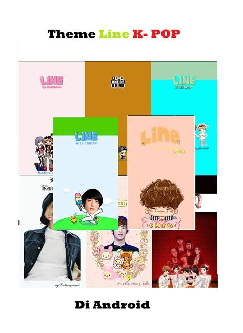 Theme Line Bap | kumpulan tema theme line k pop part 2