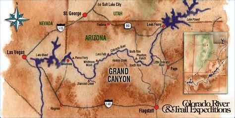 grand map it grand rafting trip green river rafting colorado