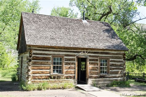 Maltese Cross Cabin by Driving Through Theodore Roosevelt National Park Midwest