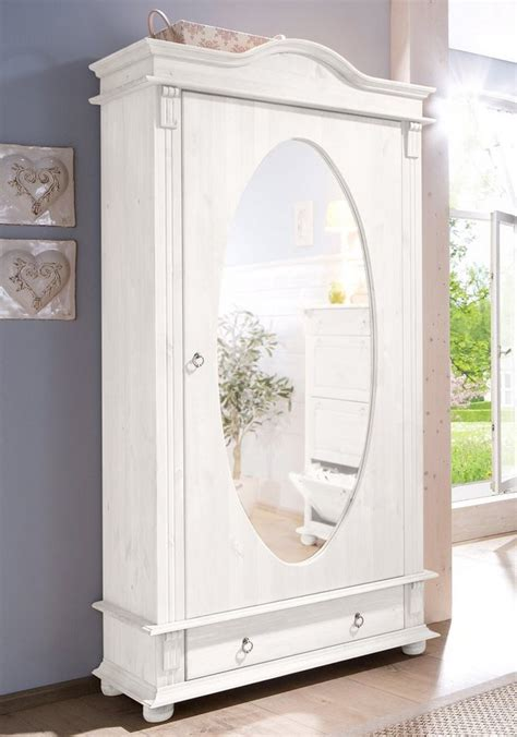 home affaire garderobenschrank florenz mit spiegel