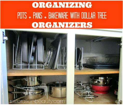 Pan Tree Panci Organizer Cookware Pantree Kitchenware O Berkualitas organizing pots pans bake ware with dollar tree organizers trees shelves and dollar tree