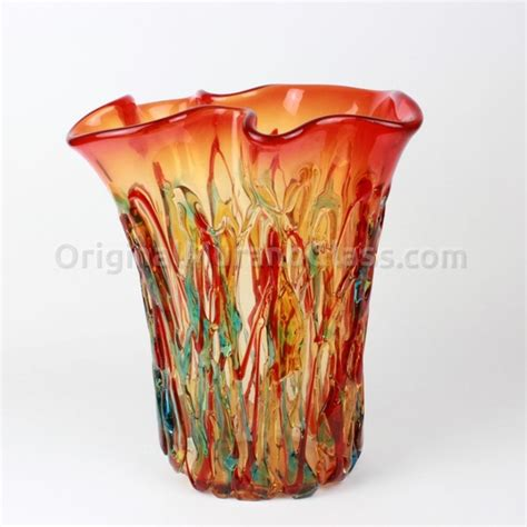 vasi vetro soffiato vaso cuba vetro soffiato