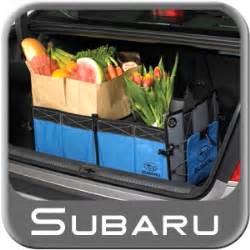 Subaru Cargo Organizer Genuine Subaru Soa567t100 Cargo Tote Cargo Organizer Blue