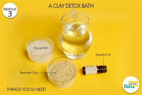 10 Minute Cold Detox Bath by Top 3 Ways To Detox Your Naturally Fab How