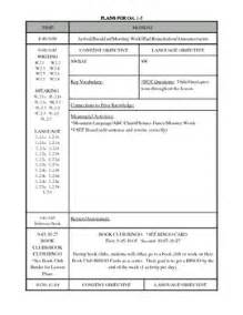 lesson plan templates lesson plans and common cores on