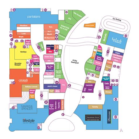 florida mall floor plan ground floor r city mall