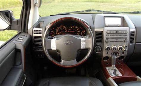 Qx56 Interior by Car And Driver