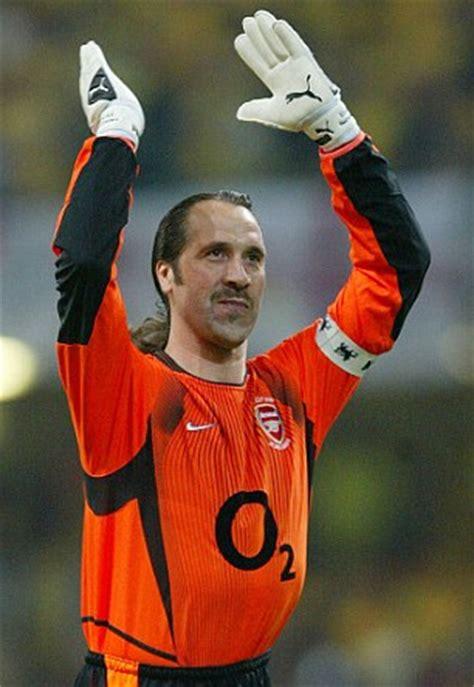 arsenal gk dennis bergk reveals former arsenal goalkeeper david