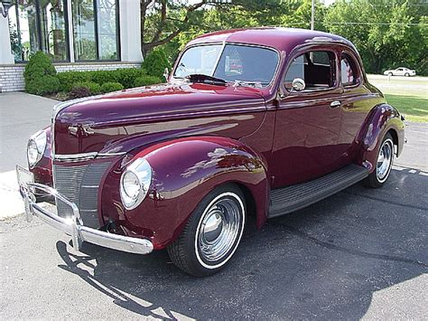 1940 ford deluxe coupe vintage fords