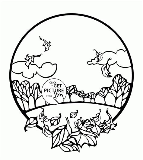 thank you god for autumn coloring page autumn scenes coloring book miss adewa 904a5c473424