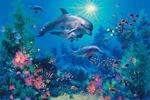 the family mural reef puzzle mural