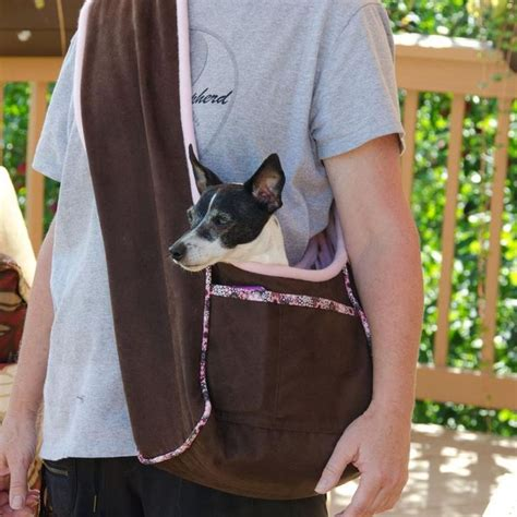 pattern for dog coat fleece pup panache s fleece lined dog carrier pdf sewing