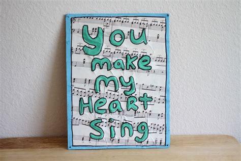 Home Decoration Diy Ideas Sheet Music Book Art Trashy Craft 77 Recycled Craft