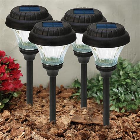 Malibu Solar 4 Piece Accent Lighting Walklight Set Earth Malibu Solar Light