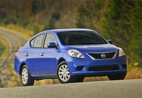 nissan sedan 2014 2014 nissan versa sedan pricing and specification revealed