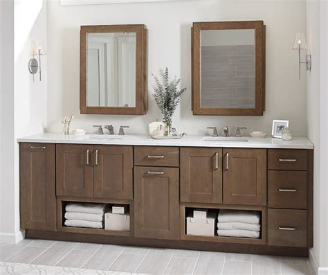 Shaker Style Bathroom Cabinets Cabinetry