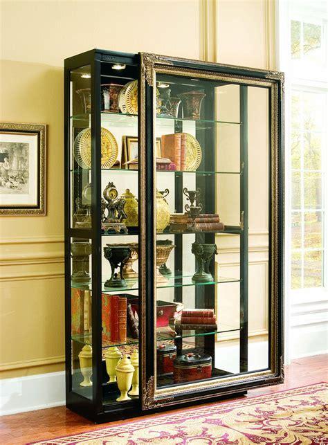 Fancy Glass Door Display Cabinet Home Ideas Collection