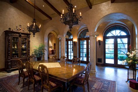 Mediterranean Dining Room Design Ideas Phenomenal Venetian Plaster Decorating Ideas