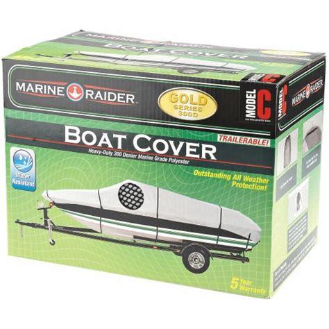 marine raider boat cover marine raider gold series model c boat cover for 16 18