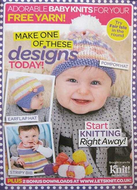 nopatterns january 2012 ravelry let s knit magazine 50 january 2012 adorable