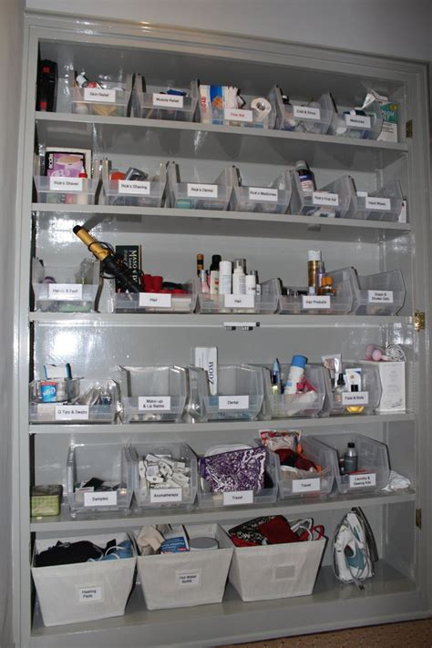 bathroom closet organization ideas organized bathroom closet i wish mine looked this way bathroom closet