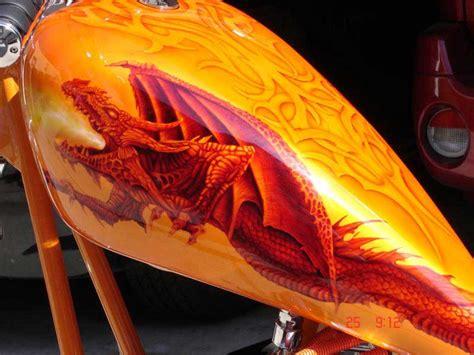 custom paintings custom motorcycle paint by bad paint