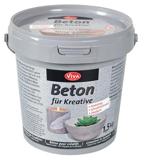 beton nachträglich wasserdicht machen beton f 252 r kreative vbs hobby bastelshop