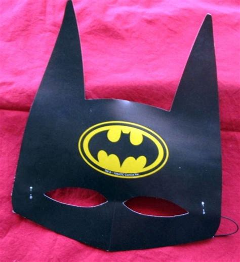 How To Make Paper Batman Mask - bat batman toys and collectibles november 2012