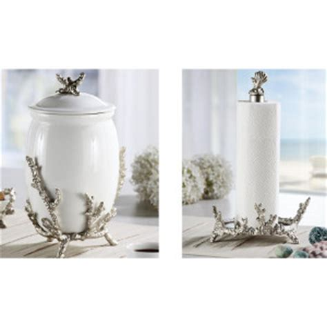 beach themed kitchen canisters beach kitchen decor and nautical kitchen accessories