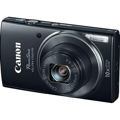 canon powershot digital canon powershot elph 150 is digital black