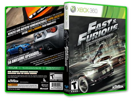 fast and furious game xbox 360 fast and furious showdown xbox 360 box art cover by payam