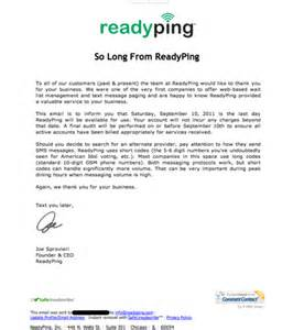 Customer Discount Letter Sle An Open Letter And Offer To All Affected Readyping