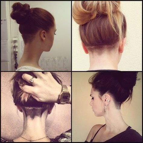 www ponytail with high nape shave haircut com best 25 nape undercut ideas on pinterest hair undercut