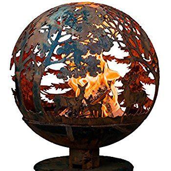 Amazon Com Third Rock Fire Pit Fire Pit Globe Garden Globe Pit
