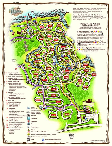 fort wilderness map the magical mouse pad fort wilderness cabins