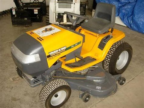 backyard king yard king 25hp 52in deck lawnmower new sn74