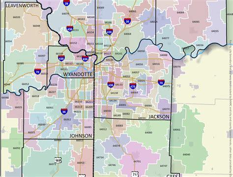 missouri map by zip code popular kansas city zip codes for real estate investors