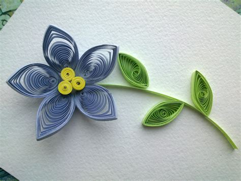 Paper Quilling Flower - trendy and brilliant 15 floral paper quilling projects