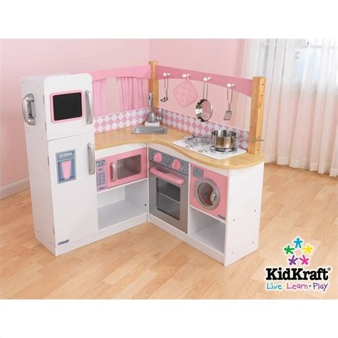Grand Gourmet Corner Kitchen by Kidkraft Grand Gourmet Corner Kitchen 53185